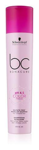Bezsulfátový šampón pre žiarivú farbu a lesk vlasov  Color Freeze Sulfate 250ml