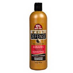 Daily Defense - vlasový šampón s keratínom  473ml