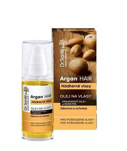 DR.SANTE ARGAN - vlasový olej s arganovým olejom a keratínom pre poškodené vlasy 50ml