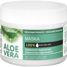 Dr.Santé/Aloe Vera intenzívne regeneračná maska pre všetky typy vlasov 250 ml