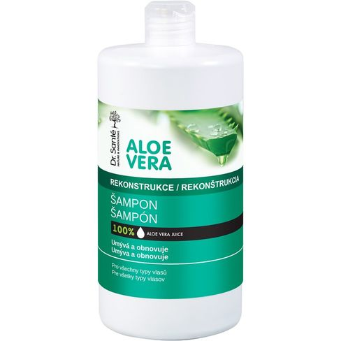Dr.Santé/Aloe Vera rekonštrukčný obnovujúci šampón pre všetky typy vlasov 1000 ml