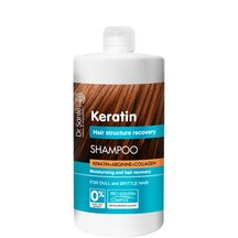 Dr.Santé/Keratín - šampón s obsahom keratín, arginín a kolagén pre hydratáciu a regeneráciu vlasov 1000 ml