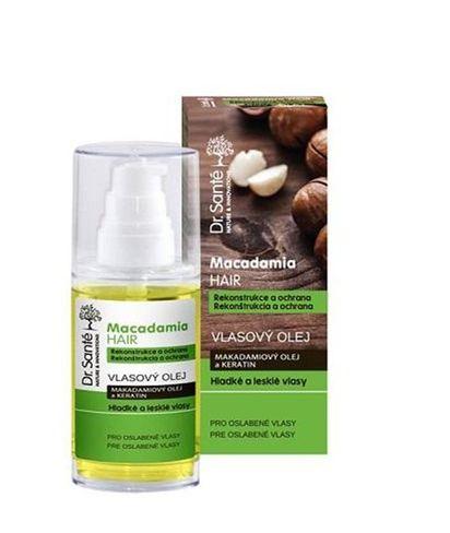 Dr.Santé/Macadamia - vlasový olej z makadamie a keratínu pre rekonštrukciu a ochranu vlasov 50ml