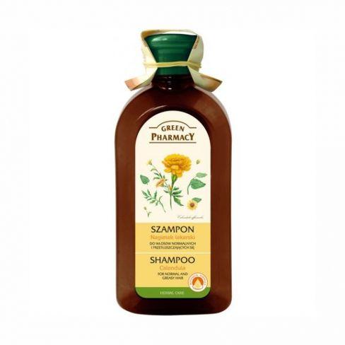 GP - šampón na normálne a mastné vlasy z extraktom nechtíka 350ml