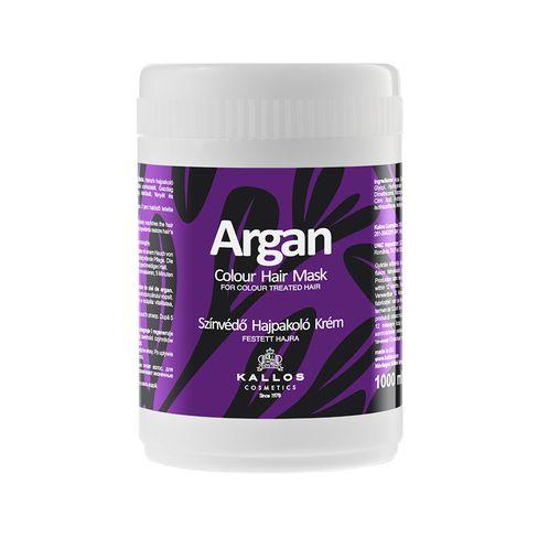 Kallos ARGAN maska na obnovu vlasov po farbení-1000 ml