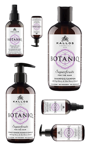 Botaniq set - šampón 300 ml + kondicionér 300 ml + sprej 150ml