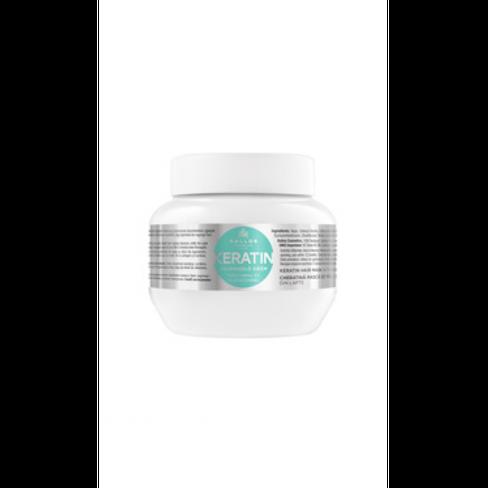 Kallos kjmn KERATIN maska na vlasy s mliečnymi proteínmi a keratínom 275 ml