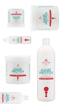 PRO-TOX SET - šampón 500ml + maska 1000ml + ampulky s keratínom kolagénom a kyselinou hyaluronovou
