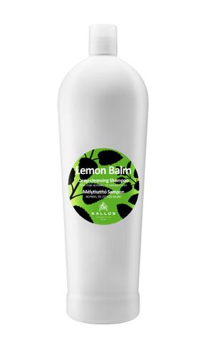 Lemon - hĺbkovo čistiaci šampón na normálne a mastné vlasy 1000 ml.