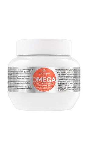 Kallos kjmn OMEGA maska na vlasy 6 komplex a Macadamia olej 275 ml