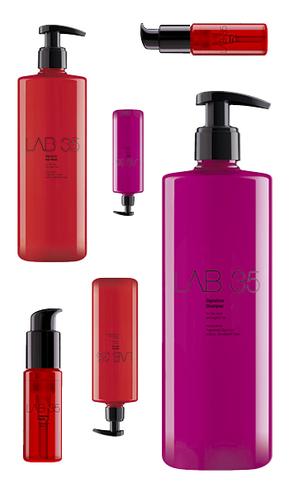 Kallos - produktový balíček rady LAB35 (4+1) na suché a poškodené vlasy