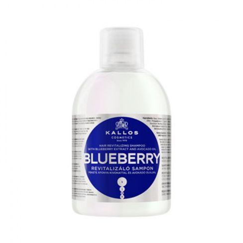 Kallos šampón BLUEBERRY čučoriedkový pre suché, poškodené a chemicky ošetrené vlasy-1000 ml.