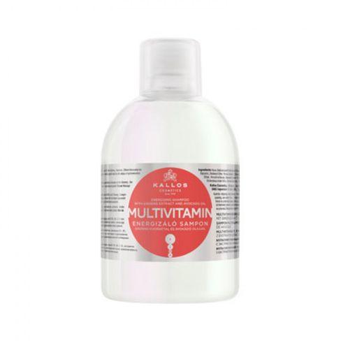 Kallos šampón MULTIVITAMIN energetizujúci šampón na vlasy-1000 ml.