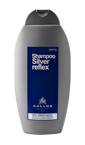 Kallos kjmn (Silver reflex) - strieborne farbiaci šampón na vlasy 350ml