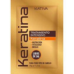 KATIVA - intenzívna obnovujúca maska KERATINA 35g