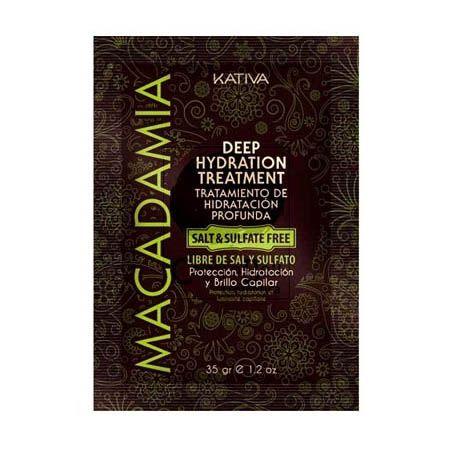KATIVA Macadamia maska pre starostlivosť,výživu a hydratáciu vlasov 35g