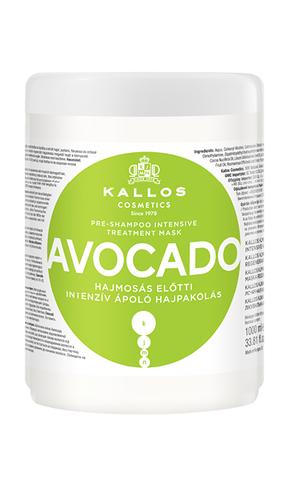 Kjmn AVOCADO intenzívna starostlivosť o vlasy- avokádová maska pred použitím šampónu1000ml