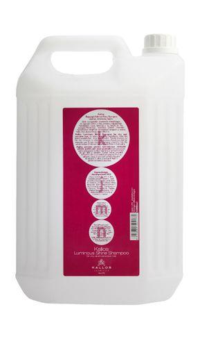 kallos KJMN SHINE šampón na suché vlasy s oslňujúcim leskom 5000ml
