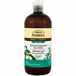 Natural pharm Green Pharmacy - Sprchový gél lotosový kvet a jazmín 500 ml