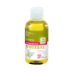 O´herbal - šampón na farebné vlasy s extraktom z tymiánu 75 ml