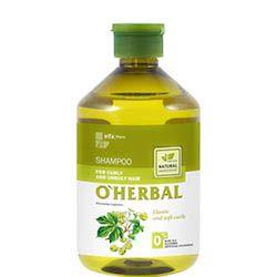 O´herbal - šampón na vlnité vlasy s extraktom chmeľu 500 ml