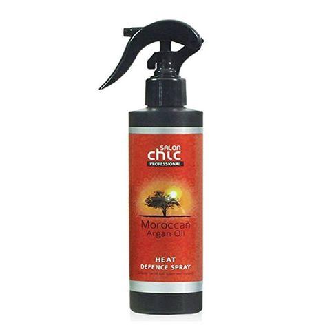 SALON CHIC - vlasový srej s Marockým arganovým olejov určený k ochrane vlasov pred teplom a suchom.