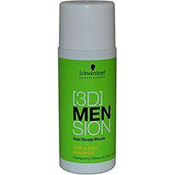 Schwarzkopf 3D Men - šampón na vlasy aj telo 50ml