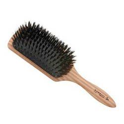 SIBEL/BAMBOO(hranatá) - pneumatická kefa na rozčesávanie vlasov z diviaka