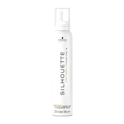 Silhouette -   unikátna pena dodáva vlasom flexibilnú fixáciu 500ml